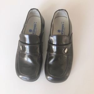 Boys Designer Brown Leather Shoe Spain 27 / 9 9.5